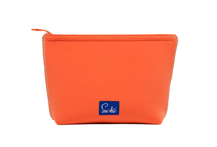 Large Voyager Pouch: Sea Star Orange