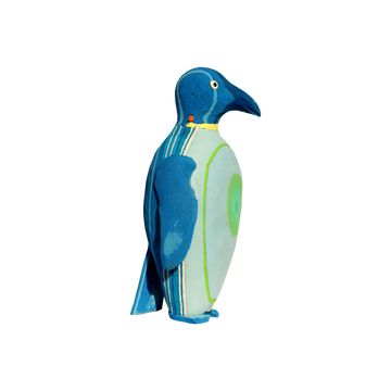 PENGUIN <p> HAND-CARVED SCULPTURE