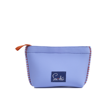 TRÈFLE BAJA BLUE<p>SMALL SKIPPER POUCH