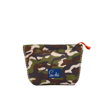 Small Voyager Pouch: Camo