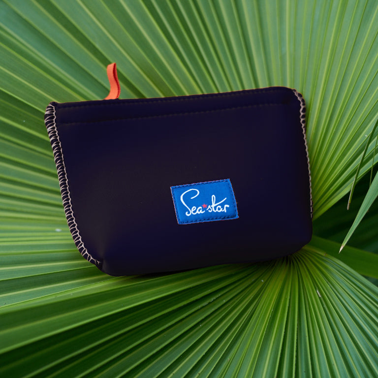 Small Voyager Pouch: Dark Navy