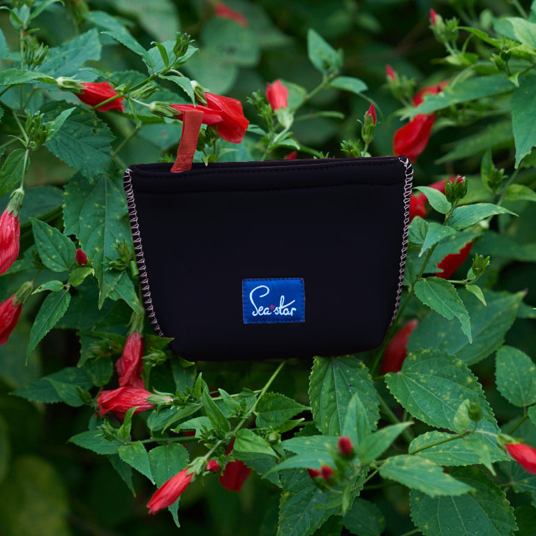 BLACK <p> SMALL VOYAGER POUCH