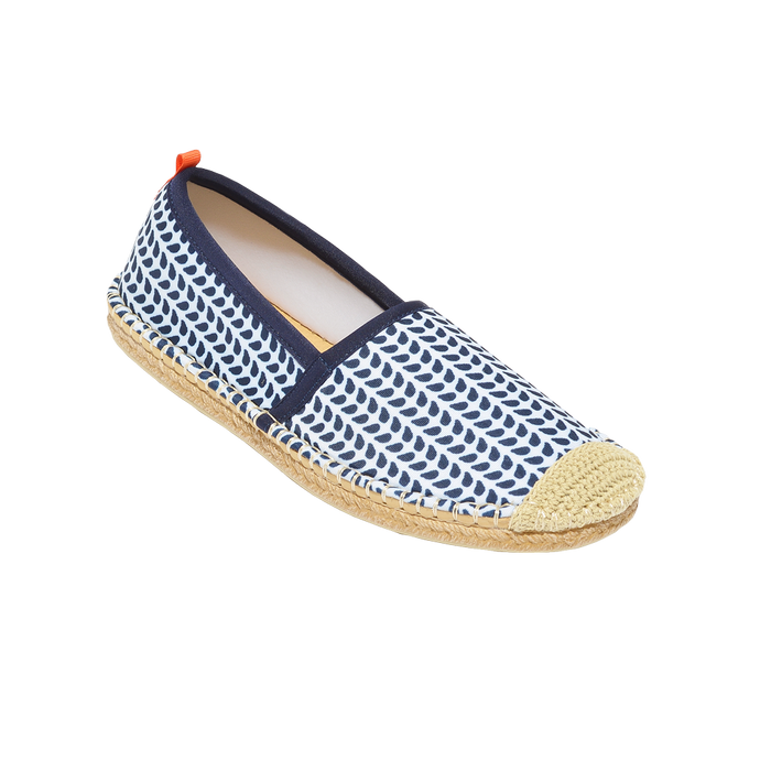 Beachcomber Espadrille: Womens Chevron
