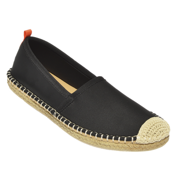 Beachcomber Espadrille: Womens Black