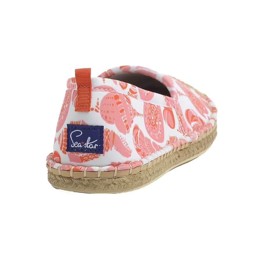 LuLuDK CORAL SHELL <p> WOMENS BEACHCOMBER ESPADRILLE