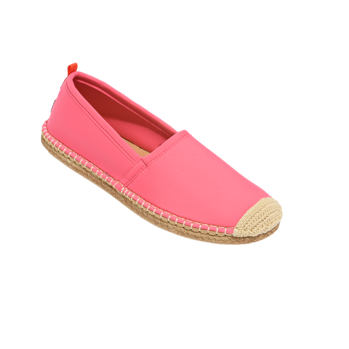 Beachcomber Espadrille: Womens Coral