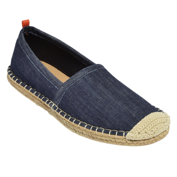 DARK DENIM <p> WOMENS BEACHCOMBER ESPADRILLE
