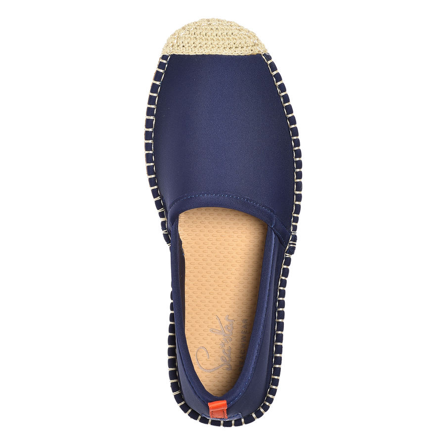 DARK NAVY <p> WOMENS BEACHCOMBER ESPADRILLE