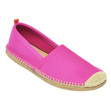 Beachcomber Espadrille: Womens Hot Pink