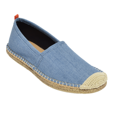LIGHT DENIM <p> WOMENS BEACHCOMBER ESPADRILLE