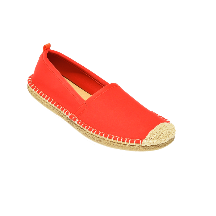 Beachcomber Espadrille: Womens Lighthouse Red