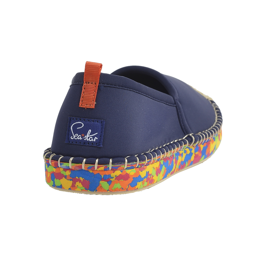DARK NAVY OCEAN SOLE <p> WOMENS BEACHCOMBER ESPADRILLE
