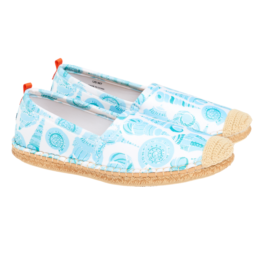 LuLuDK SEA GLASS SHELL <p> WOMENS BEACHCOMBER ESPADRILLE