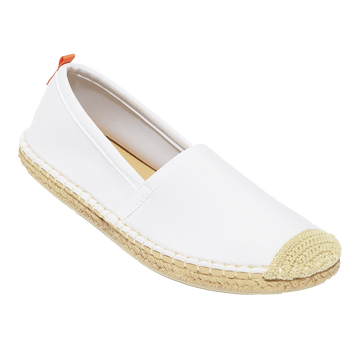Beachcomber Espadrille: Womens White