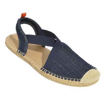 Seafarer Slingback: Womens: Dark Denim