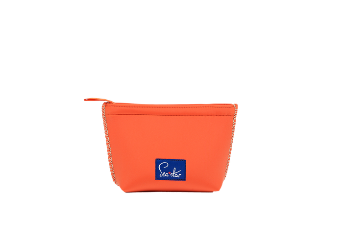 Small Voyager Pouch: Sea Star Orange