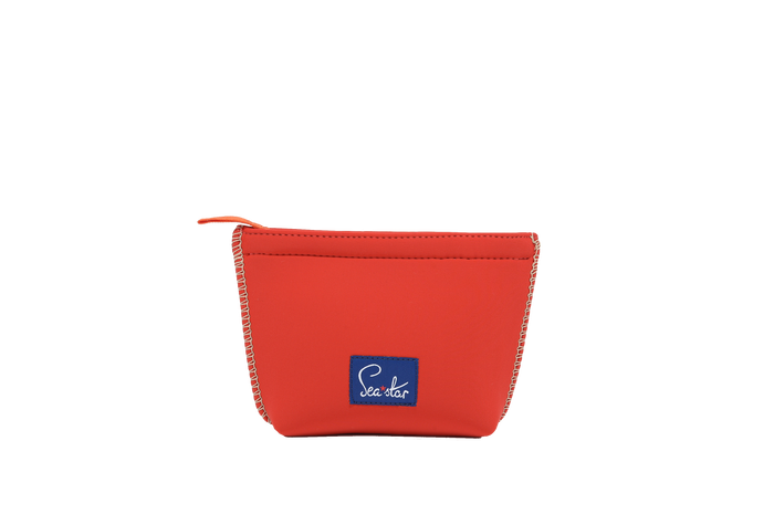 Small Voyager Pouch: Lighthouse Red