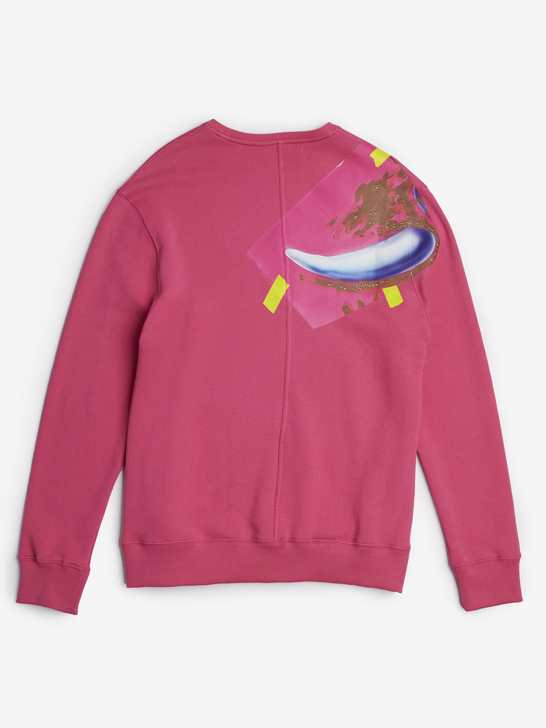 Pink taped long sleeve Sweatshirt Rochambeau