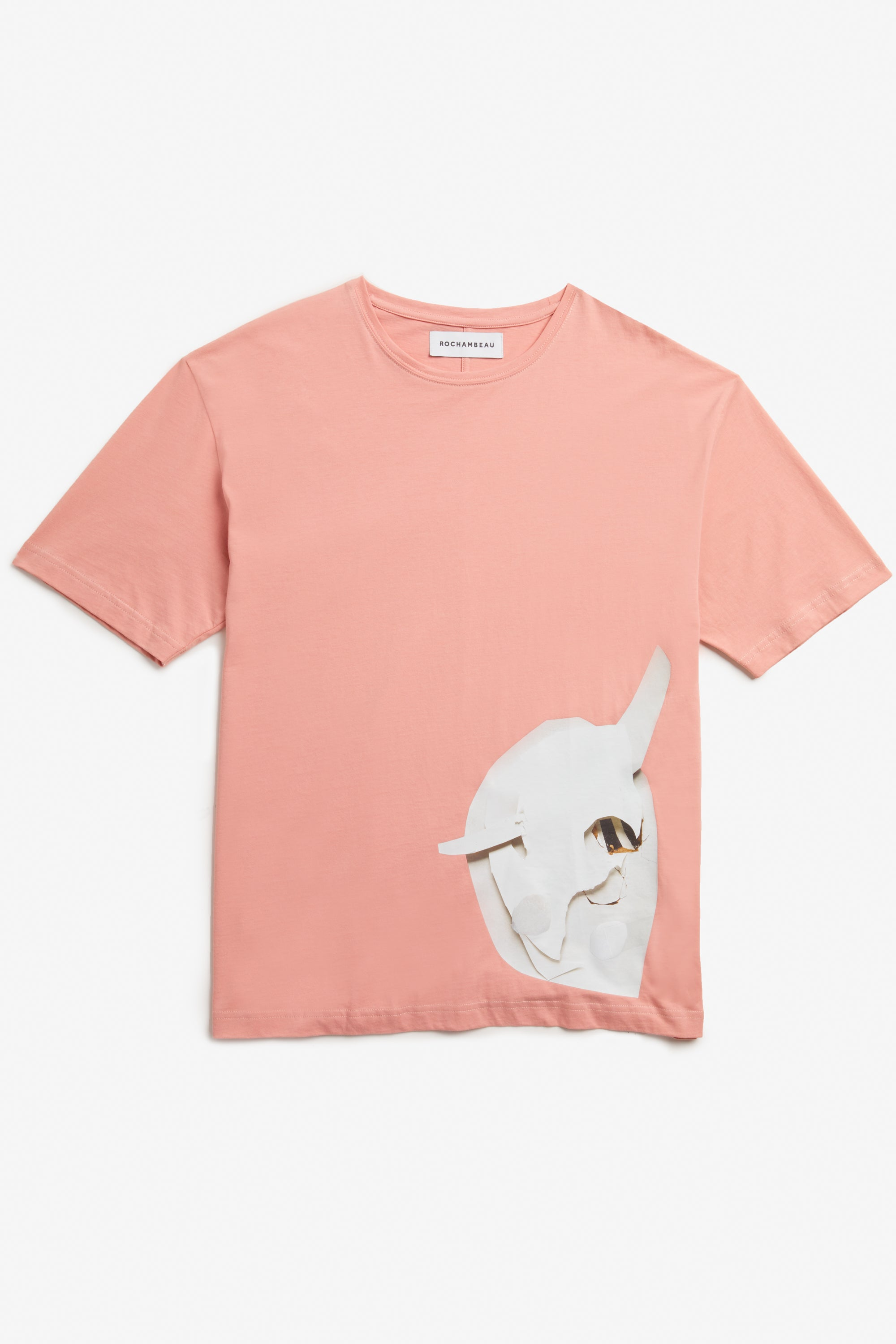 Peach Beige core tee
