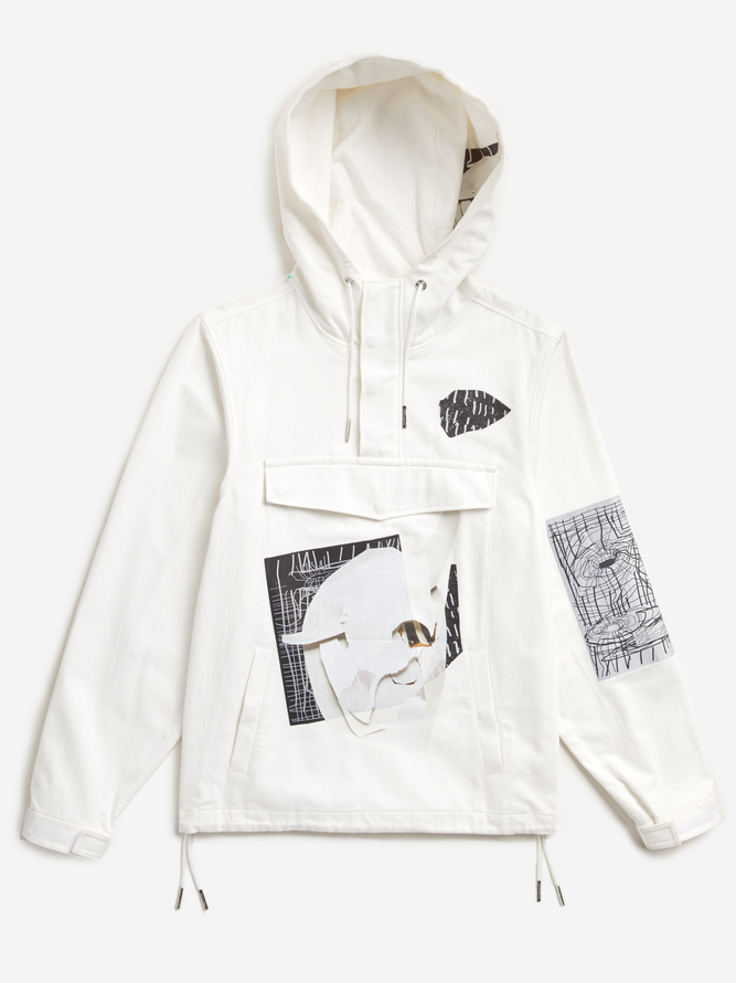 rochambeau aaron curry white windbreaker