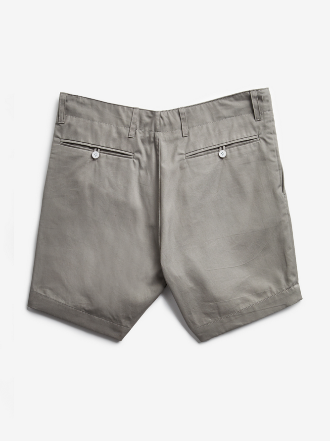 Grey Tailored Short