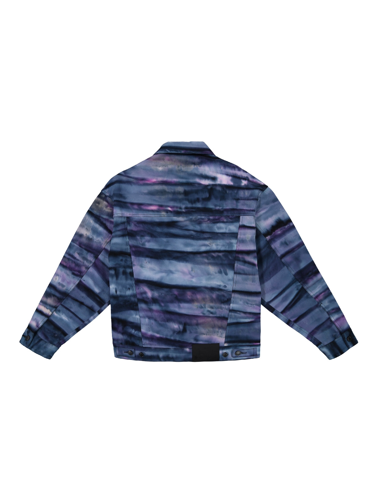 tie dye - oversized short jacket