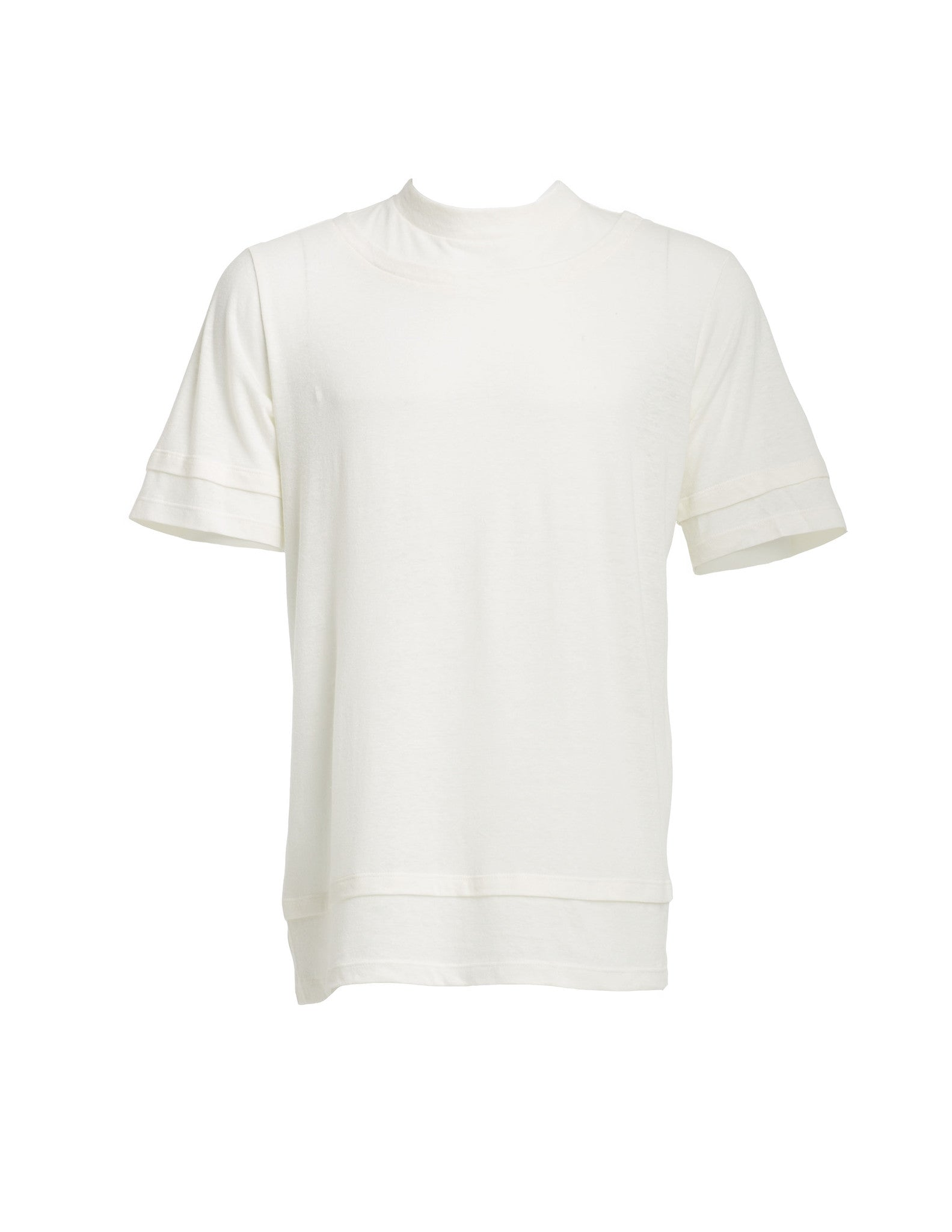 Segment T-Shirt in Off White