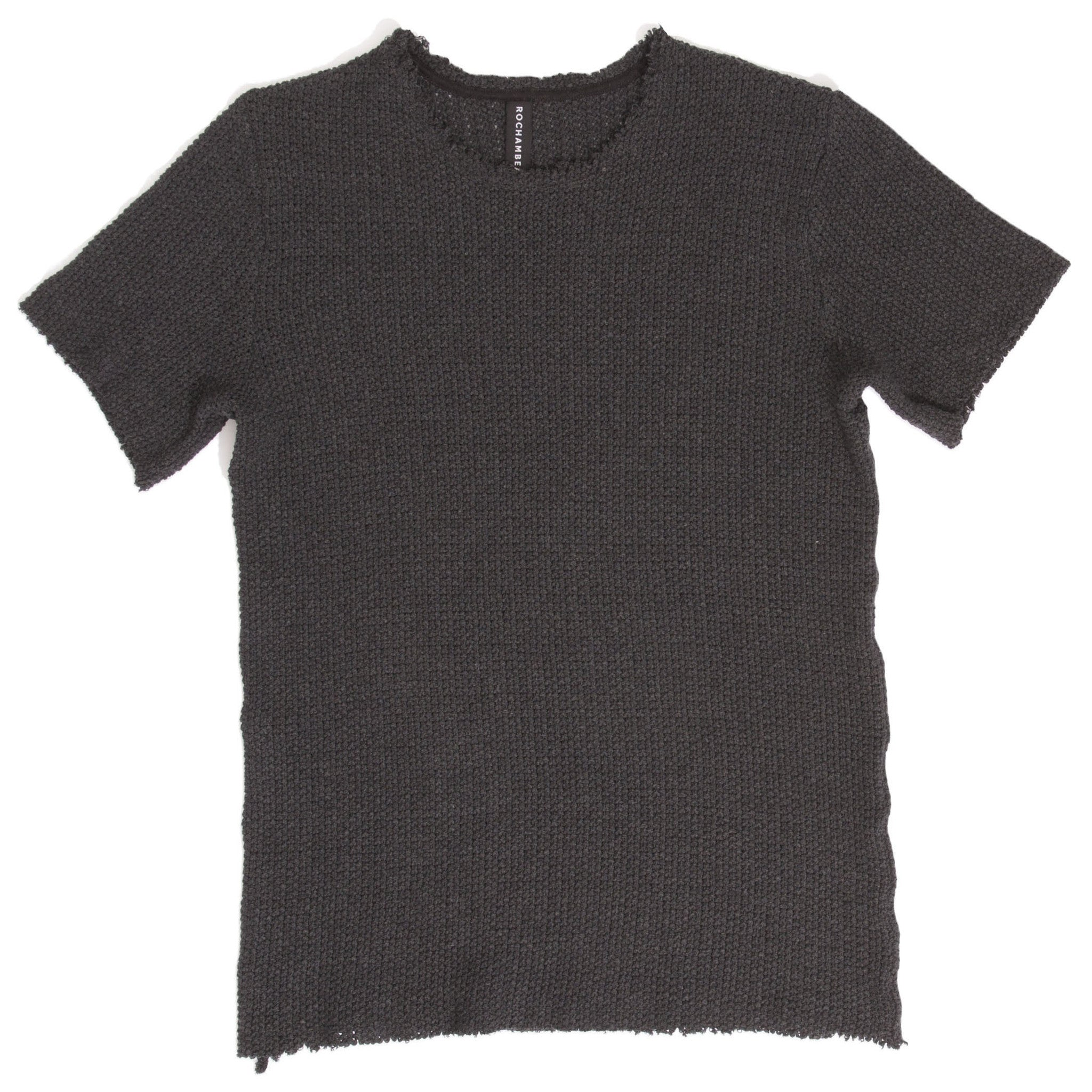 Seed Stitch Knit T-Shirt