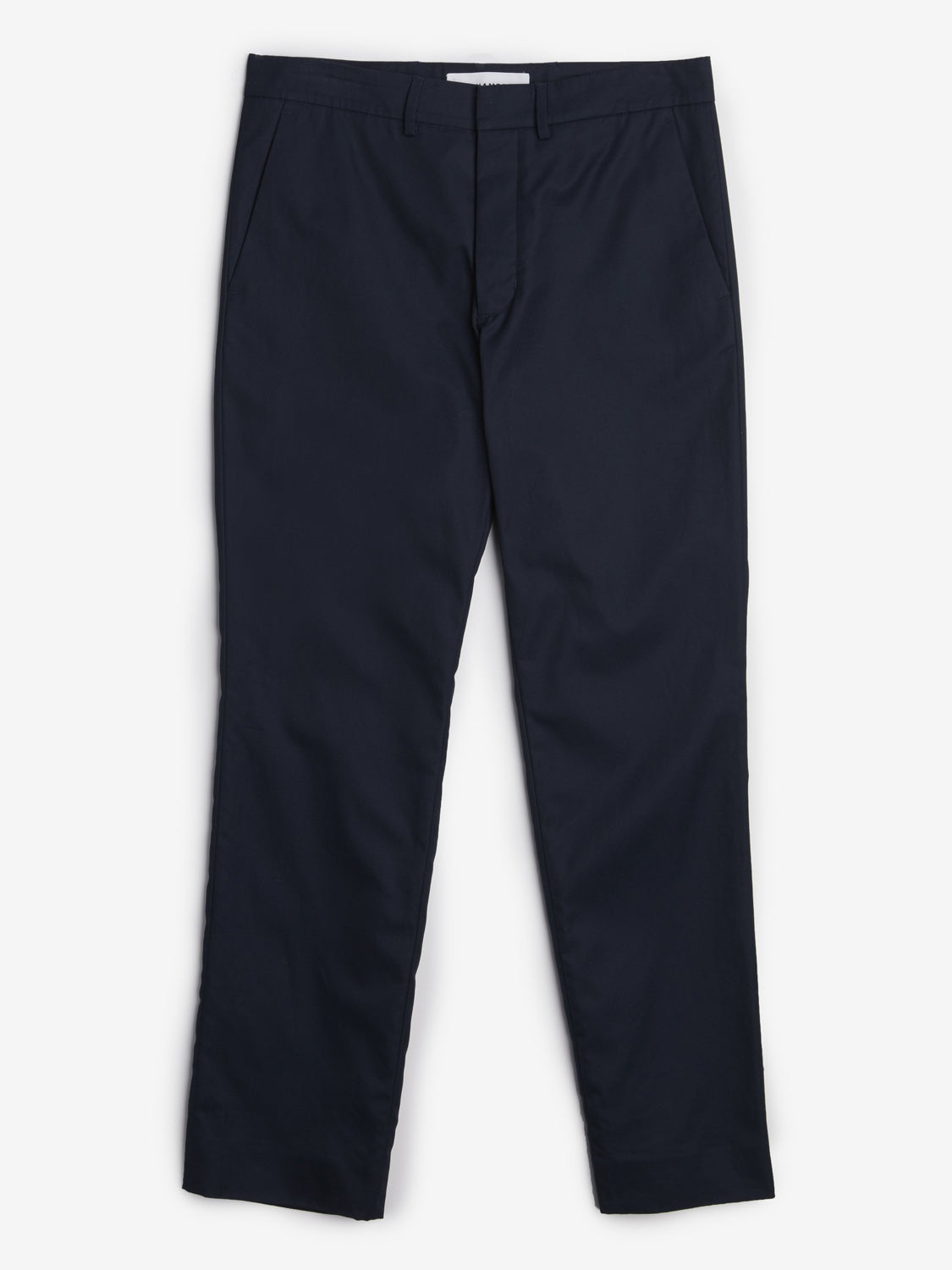 Navy Pipe Trouser