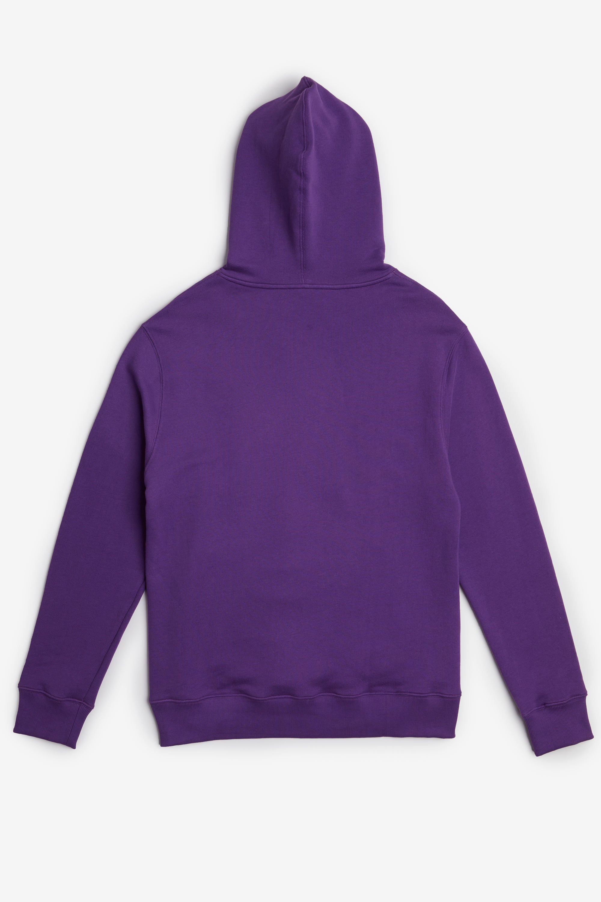 Purple graphic taped hoodie sweatshirt Rochambeau