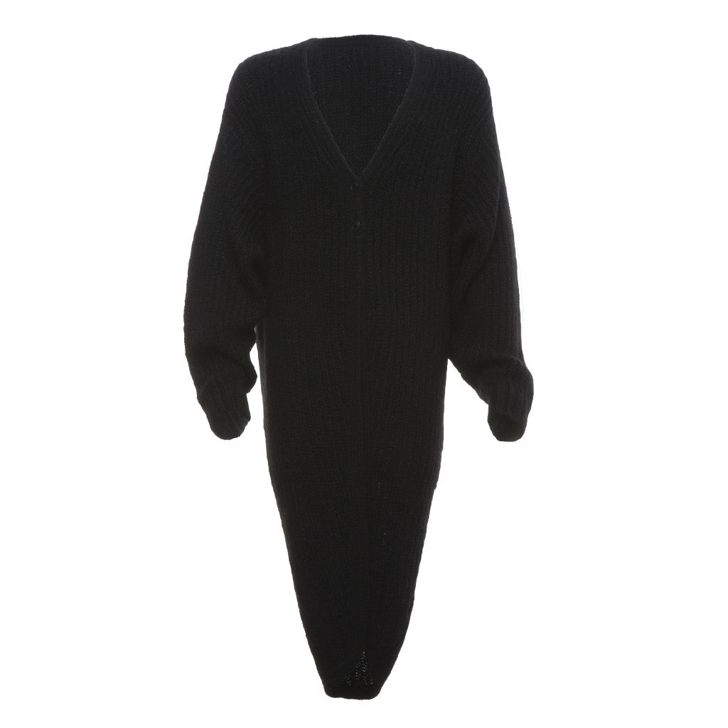 Slush Off Cardigan in Black