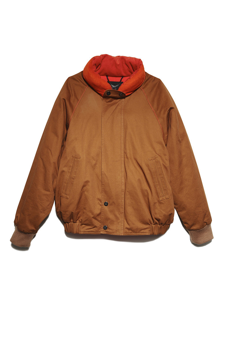 Raheem Jacket in Camel
