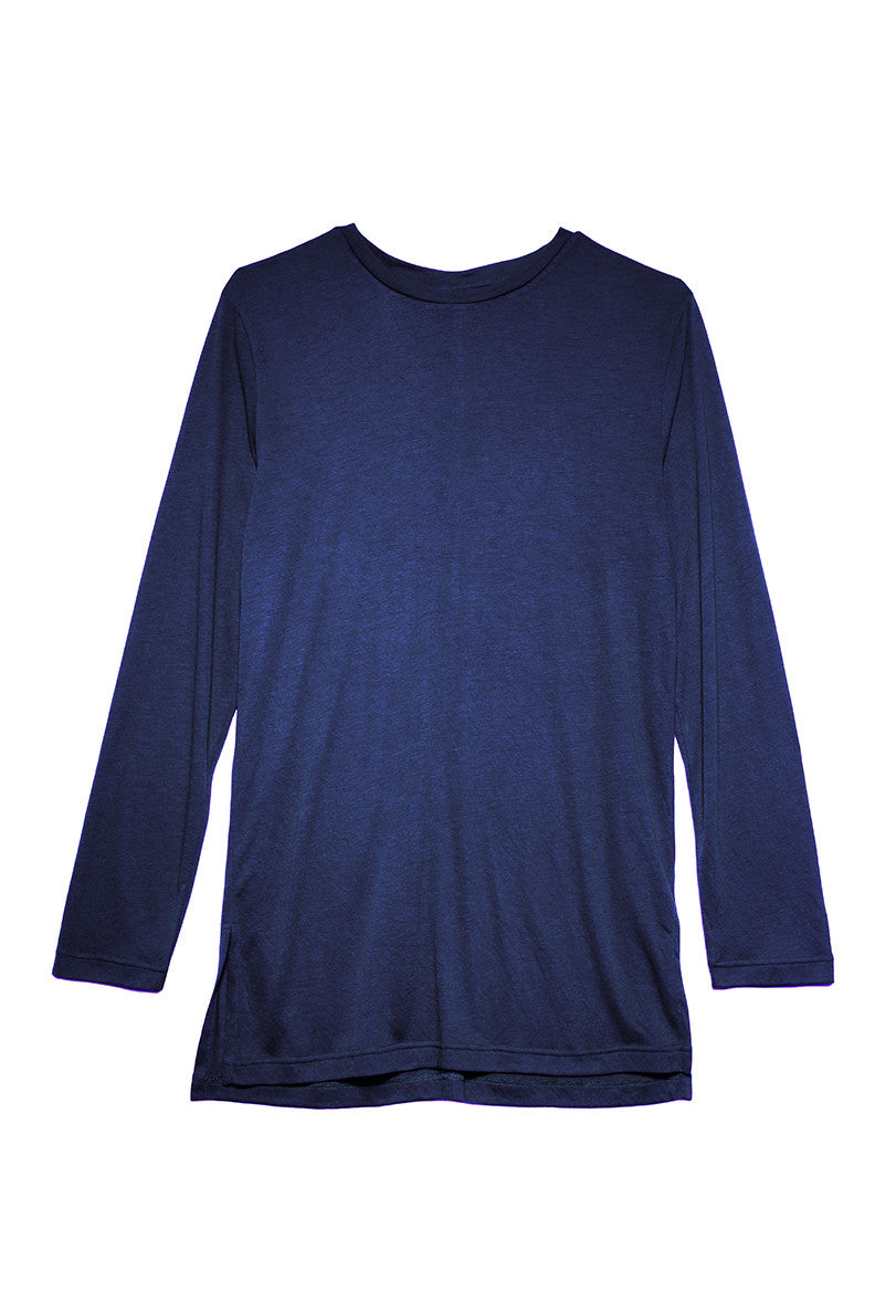 Long Sleeved Shirt in Navy