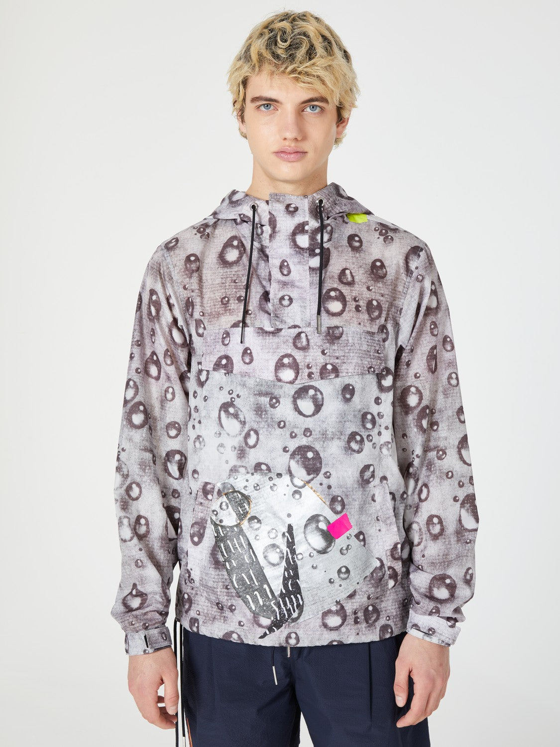 jacket outerwear pocket graphic