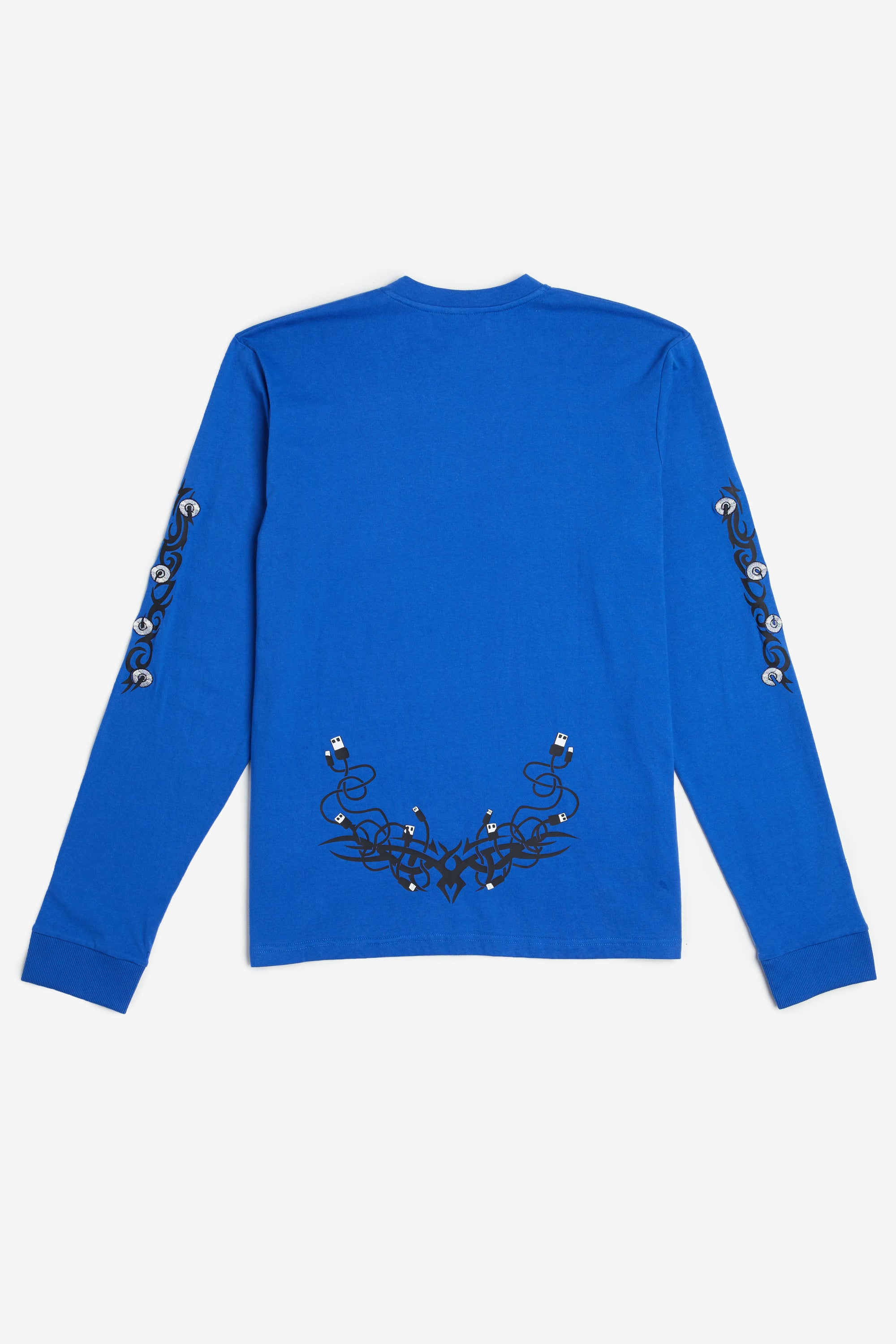 Tribal Smiley Long Sleeve Tee