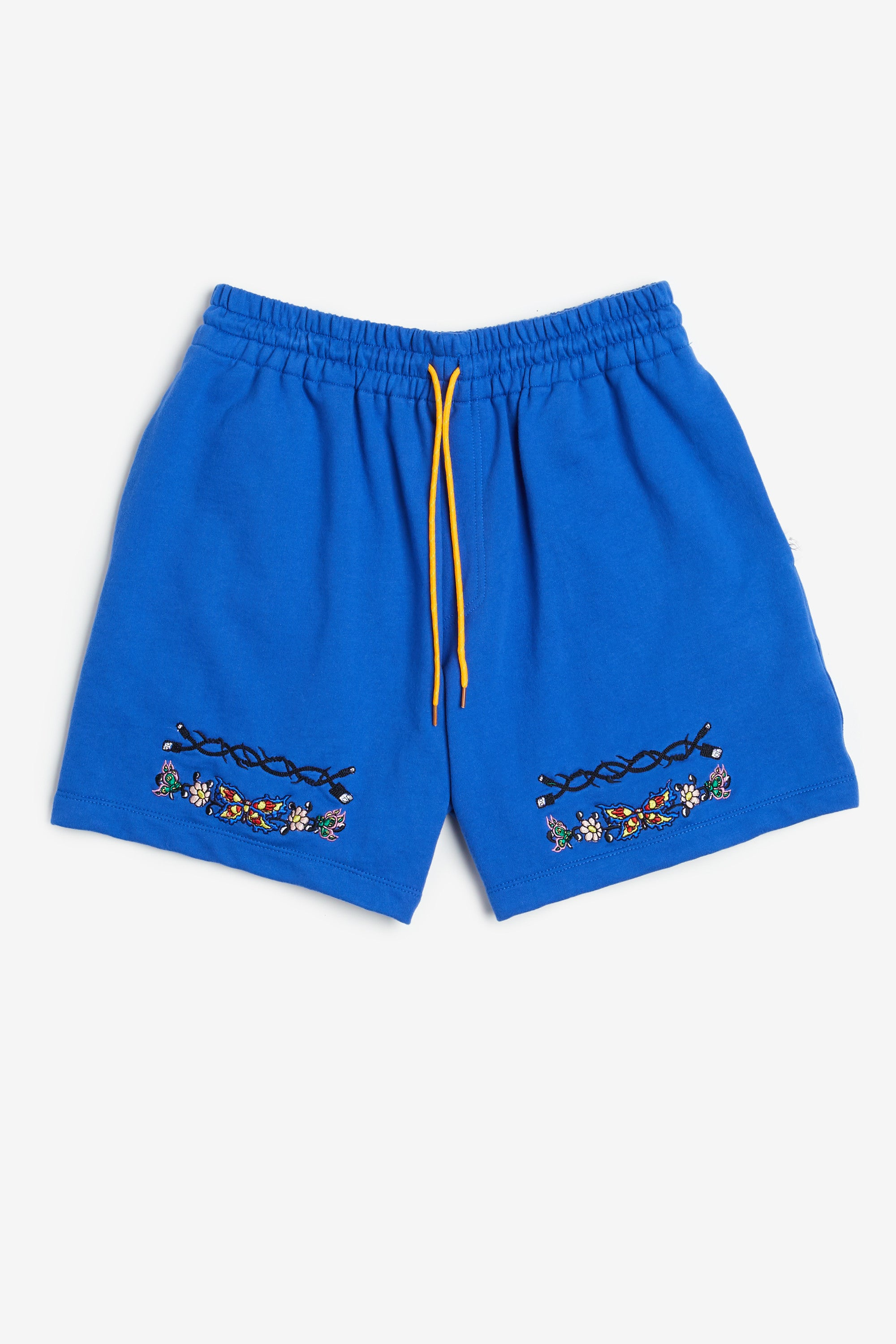 Embroidered Butterfly Shorts