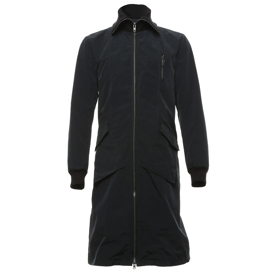 Outflow Long Jacket in Navy