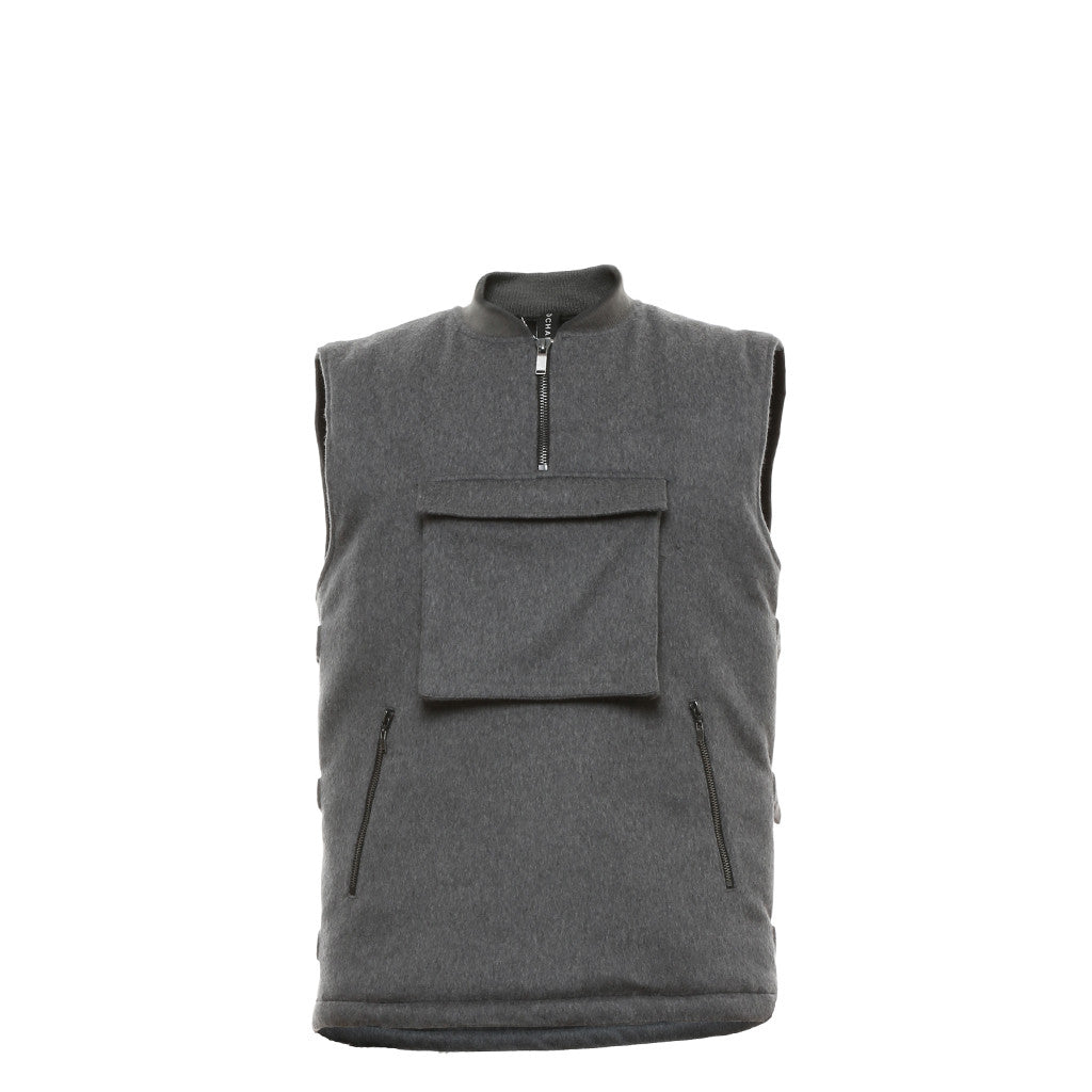 Supercell Cargo Vest in Grey