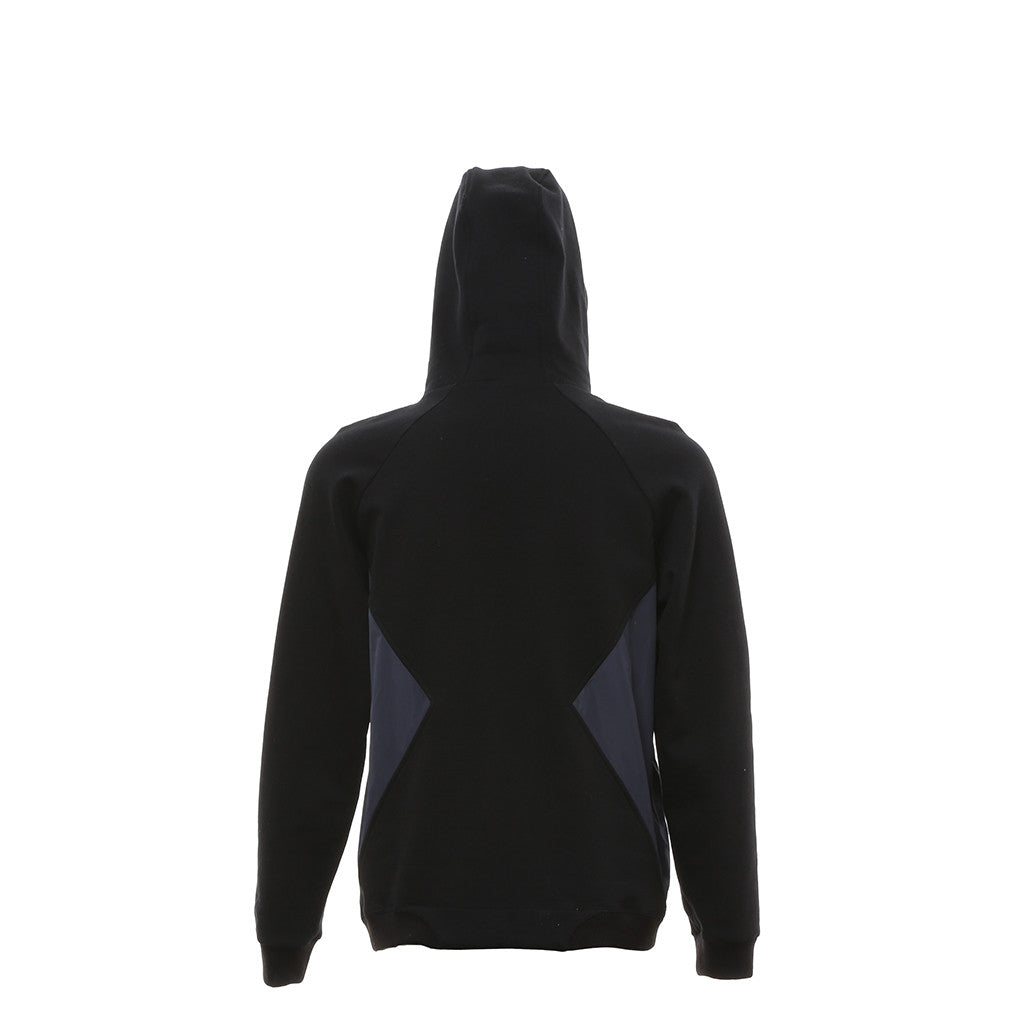 Subzero Funnel Hoodie in Black/Navy