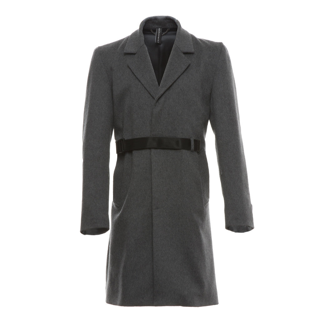 Storm Surge Coat in Grey