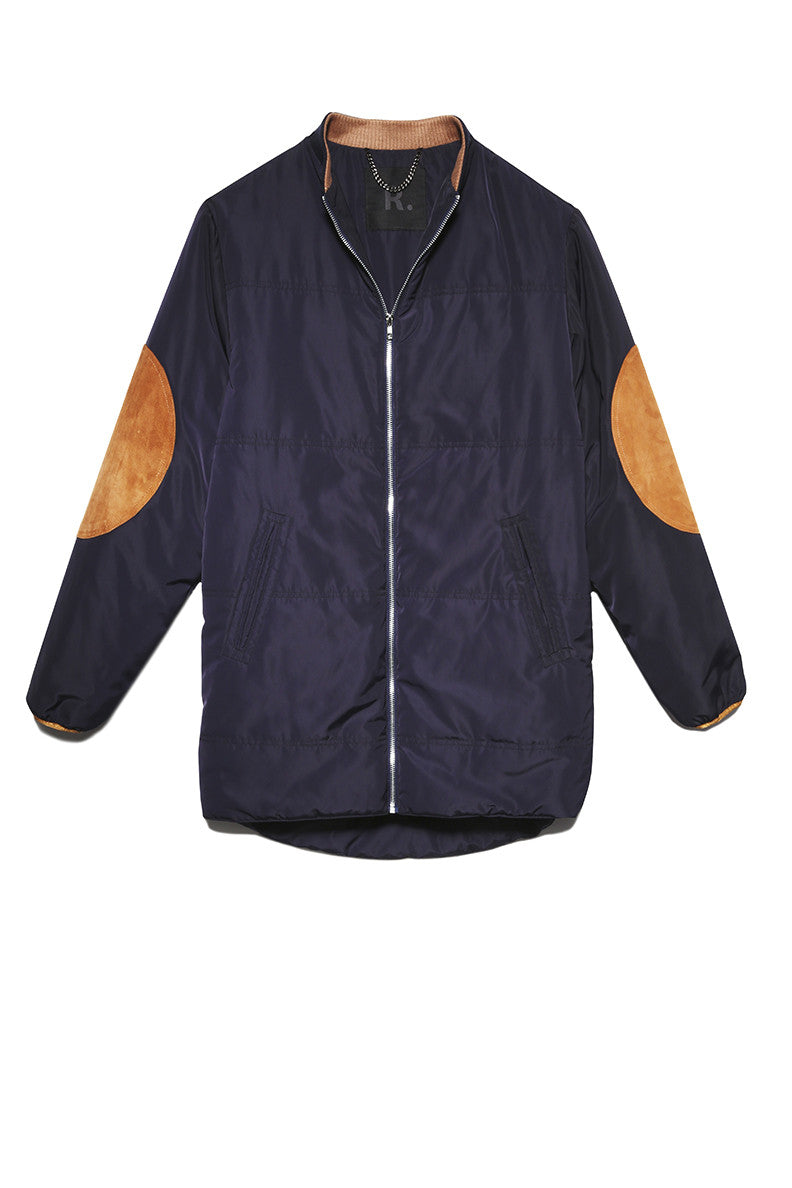 Puffer Jacket in Navy
