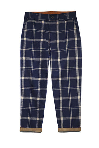 Tailored Pants in Plaid