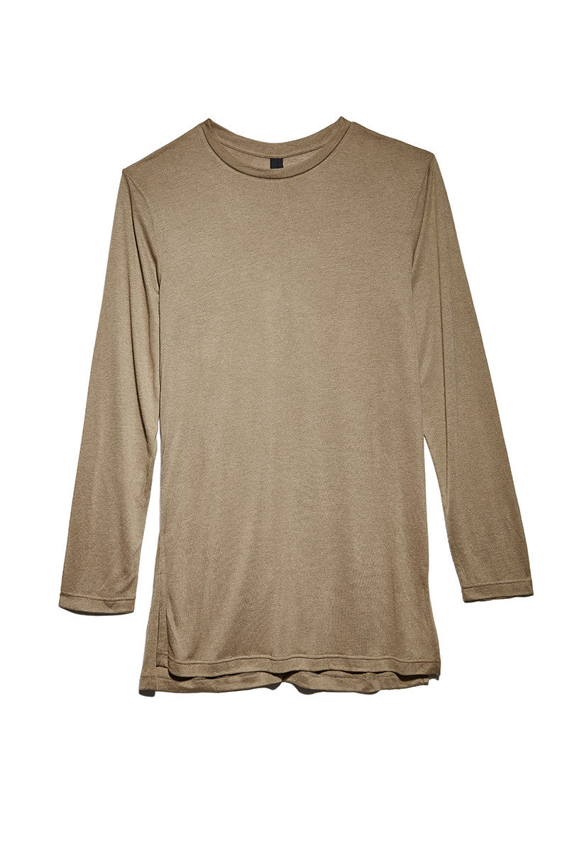 Long Sleeved Top in Olive