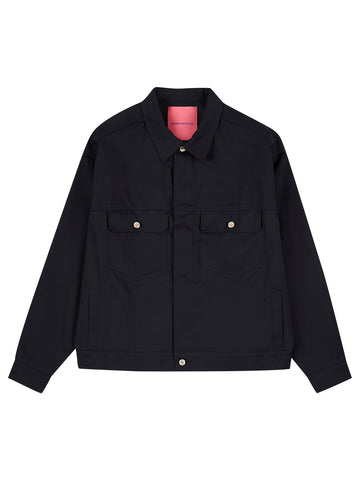 Short Jacket - Navy