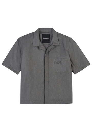 Pocketed Short Sleeve Work Shirt