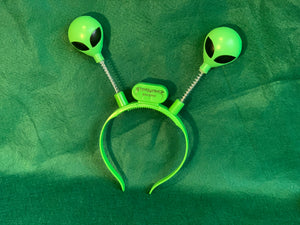 Lighted Alien Head Bopper