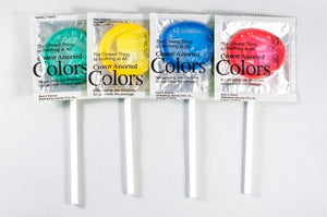 Condom pops - set of four