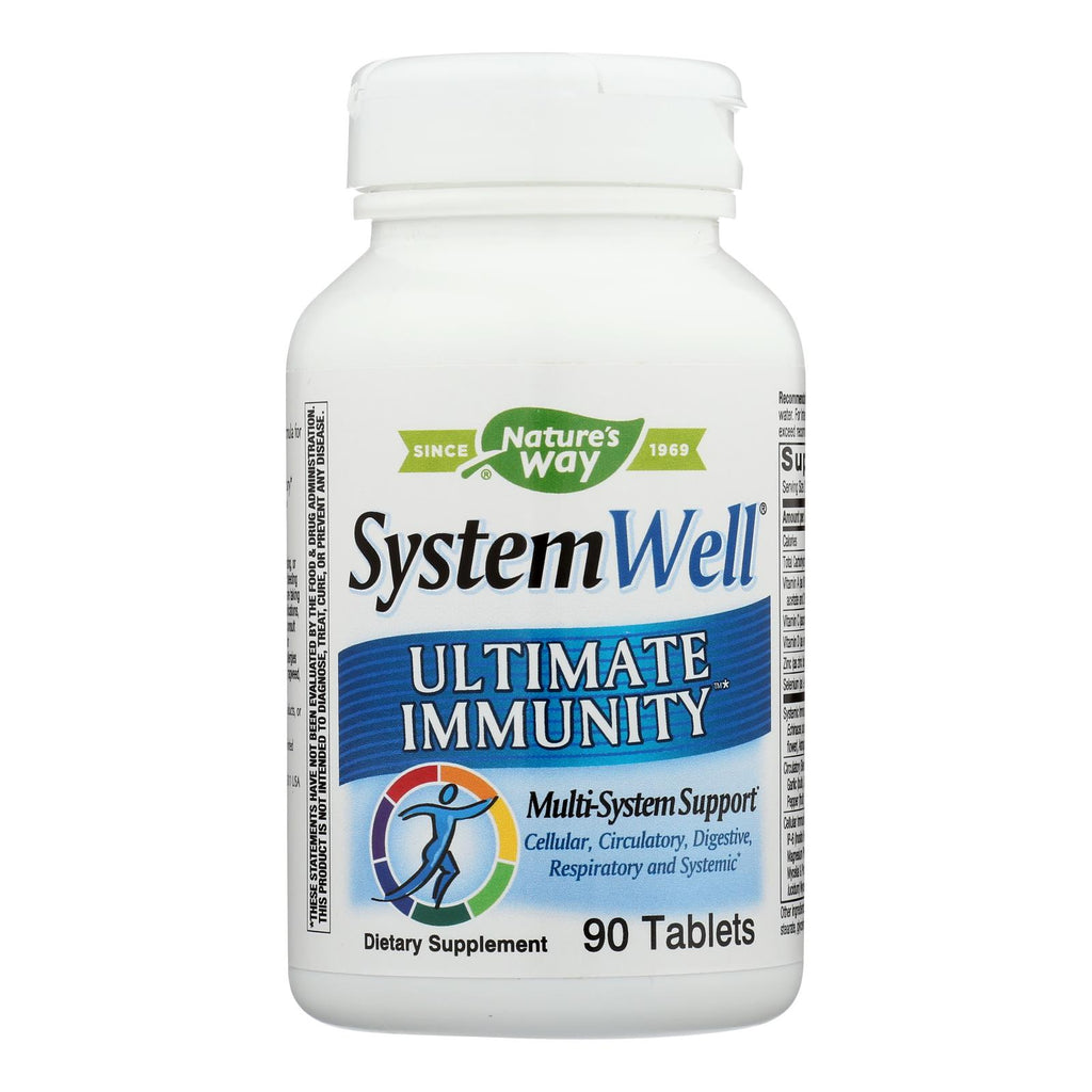 Nature's Way - Systemwell Ultimate Immunity - 90 Tablets