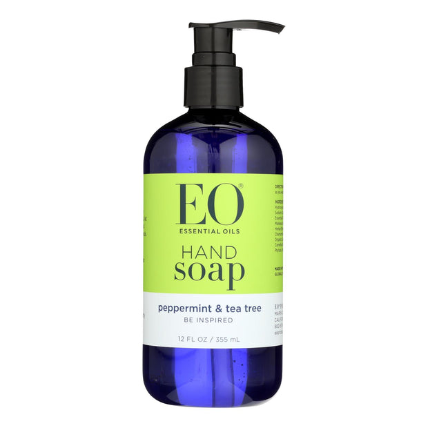 Eo Products - Liquid Hand Soap Peppermint And Tea Tree - 12 Fl Oz