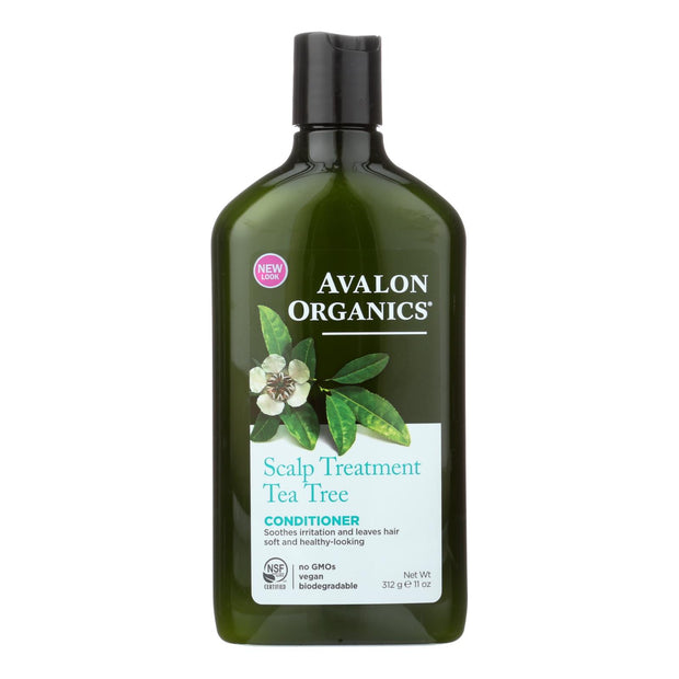 Avalon Organics Scalp Treatment Tea Tree Conditioner - 11 Fl Oz
